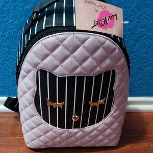NWT Betsey Johnson medium size backpack